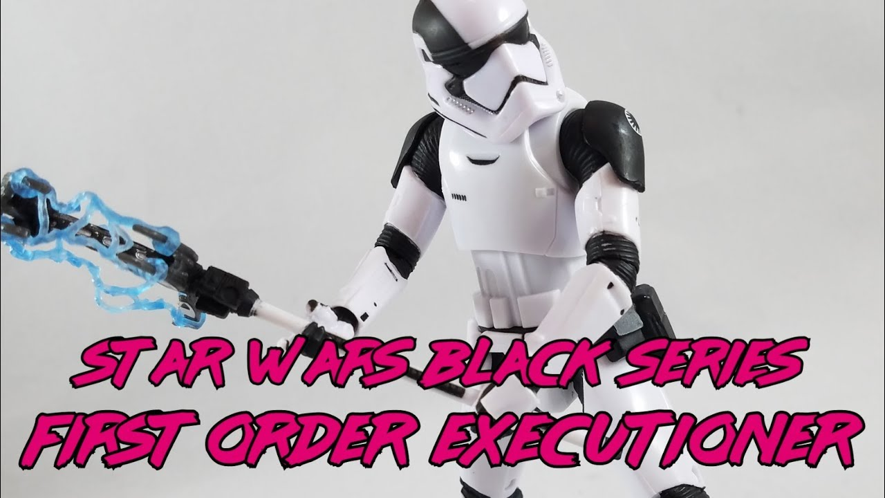"""Star Wars The Black Series First Order Stormtrooper 6/"""" Executioner Action Figure"""