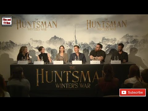 The Huntsman  Winter's War Full Press Conference