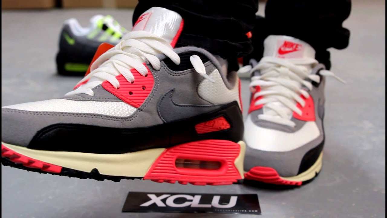 2010 Nike Air Max 90 Hommes Infrarouges