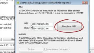 Reparar Imei Invalido - Imei Reportado - IMEI Dañado  - Metodo II - repair IMEI Red no disponible