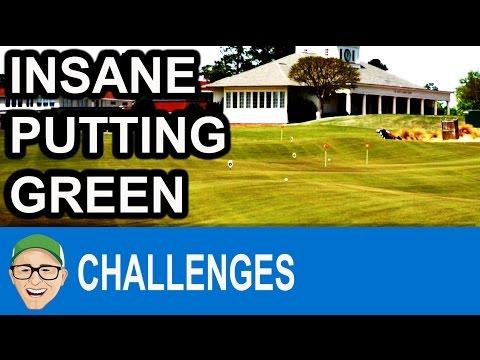 Pinehurst Insane Putting Green