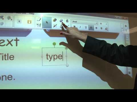 SMART Light Raise 60wi Interactive Projector Training Video (Sageville School)