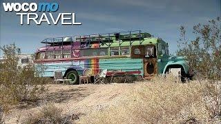 Slab City, wildes Leben in der Wüste (360° - GEO Reportage)