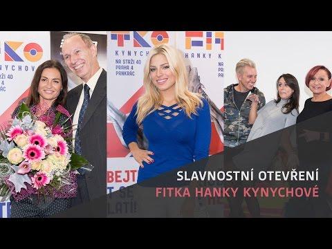 Slavnostní otevření Fitka Hanky Kynychové – Machálková, Rosák, Janků, Šinkorová, Bittnerová
