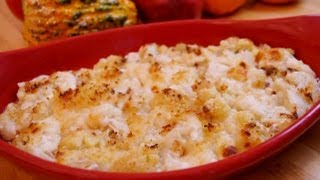 How To Make Cauliflower Gratin Recipe: Holiday, Christmas Side-dishin' With Di Recipe #24