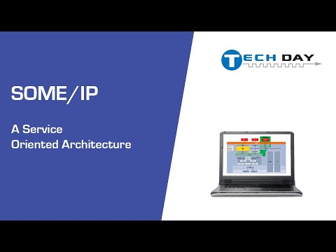 SOME/IP - A Service Oriented Architecture (Intrepid Tech Day '19)