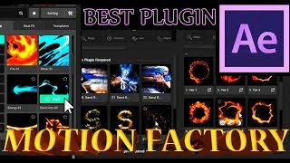 Review-MOTION-FACTORY Plugin Für After Effects / AE-Tutorial / 99+ Animationen