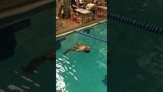 German Armed Forces Proficiency Badge Swim Test