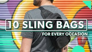 10 Sling Bags For Every Occasion   Should You Travel With One?
