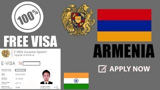 100% Free Armenia Visa - Apply For Armenia Free Visa Now