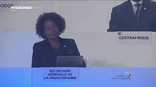 Sommet de la Francophonie - Justin Trudeau salue