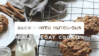 Healthy Oat Cookies | Baking With Nutorious | Ep6