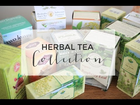My Herbal Tea Collection | Health Benefits & Uses