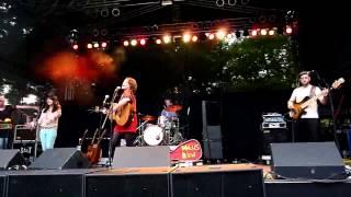Wallis Bird - I am so tired of that line @Park-Kult-Tour 2012