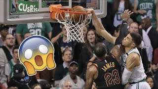 NBA SUPERSTARS Getting DUΝKED ON!