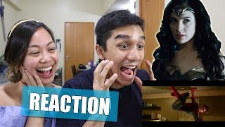 Wonder Woman Final Trailer & Spider-man: Homecoming Clip | REACTION