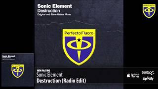 Sonic Element - Destruction (Radio Edit)