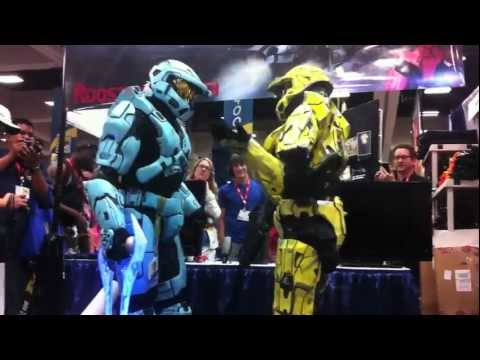 Red vs. Blue - A Halo Proposal at the Red vs. Blue Booth at Comic Con 2011 | Rooster Teeth
