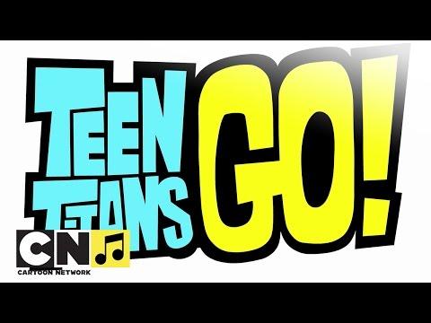 """""""Малки титани: В готовност!"""" ♫ Начална песен ♫ Cartoon Network"""