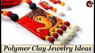 How To Make Handmade DIY Polymer Clay Jewelry at Home | Easy Terracotta Jewellery Making Techniques