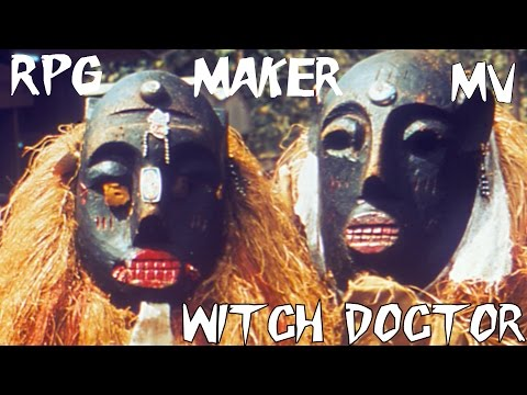 RPG Maker MV - Witch Doctor- Custom Class Series - YouTube