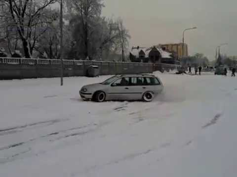 snow fun vw golf mk4 variant youtube. Black Bedroom Furniture Sets. Home Design Ideas