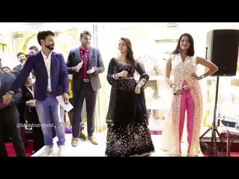 Madhuridixitnene when she danced on ' Channe Ke Khet Mein ' HD video