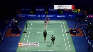 Thaihot China Open 2015 | Badminton SF M5-XD | Liu/Bao vs Fis/Ped
