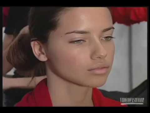 Backstage with Adriana Lima  Victoria's Secret  2001