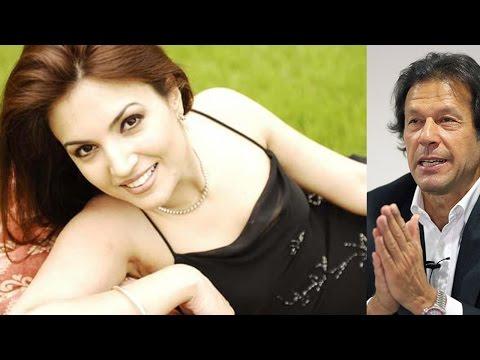 Imran Khan's new wife Reham Khan, private moments