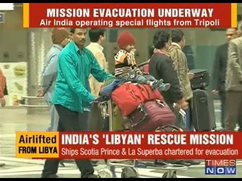 Indian workers free from Libya