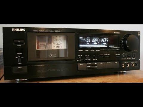 The Digital Compact Cassette Prototype Philips DCC850