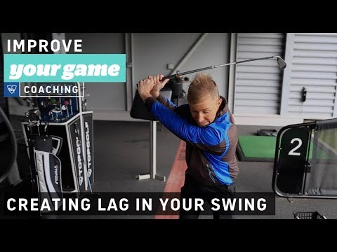 How lag will give your swing more power and distance  - Golf Lessons with Topgolf