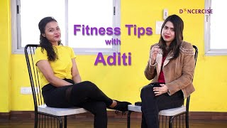 How did Aditi lose weight! Health and fitness tips from Aditi | Dancercise | Simpletips Anwesha