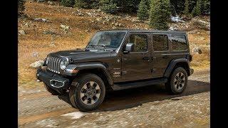 New Jeep Wrangler 2019, Lamborghini Urus, автоновомый минивэн для работы