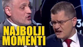 HAOS U STUDIJU N1! Svađa Čedomir Jovanović i Vuk Jeremić - najbolji momenti