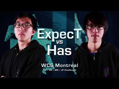 Has vs ExpecT   冠亞軍戰   WCS 蒙特婁
