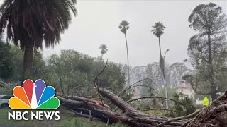 'Bomb Cyclone' Hits The West Coast
