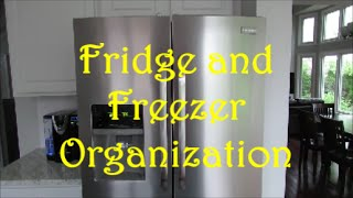 Fridge and Freezer Organization | Dollar Tree Organization