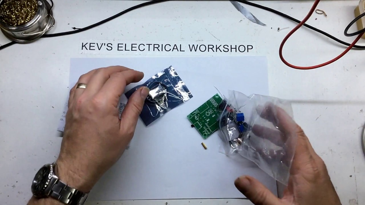 Lm317 Digital Adjustable Power Supply Kit Build Youtube Circuit