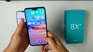 (Hindi) Honor 8x Battery Charging Test & Screen on Test