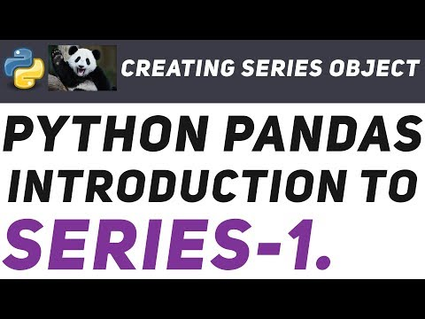 Intro to Pandas: -1 : An absolute beginners guide to Machine