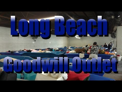 Bin Pickers- Long Beach Goodwill Outlet Haul to Sell on Ebay