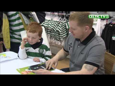 Celtic FC - Neil Lennon Signing Session in Dublin