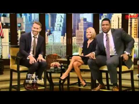 Ryan Reynolds Interview - Live with Kelly and Michael 09/21/15