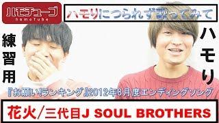 【ハモチューブ】 花火/三代目 J SOUL BROTHERS