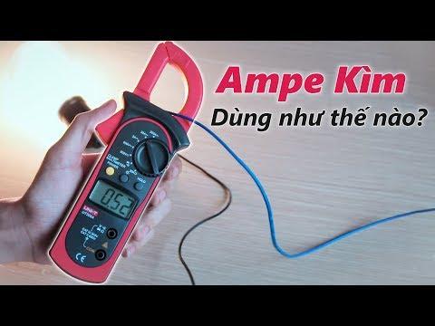 Ampe Kìm là gì ? Cách dùng Ampe Kìm thế nào ?
