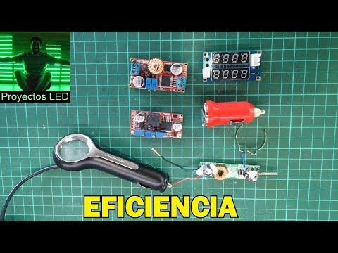 eficiencia de cargadores y fuentes dc-dc