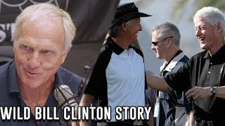 Bill Clinton Severely Injured His Knee At Greg Norman's House