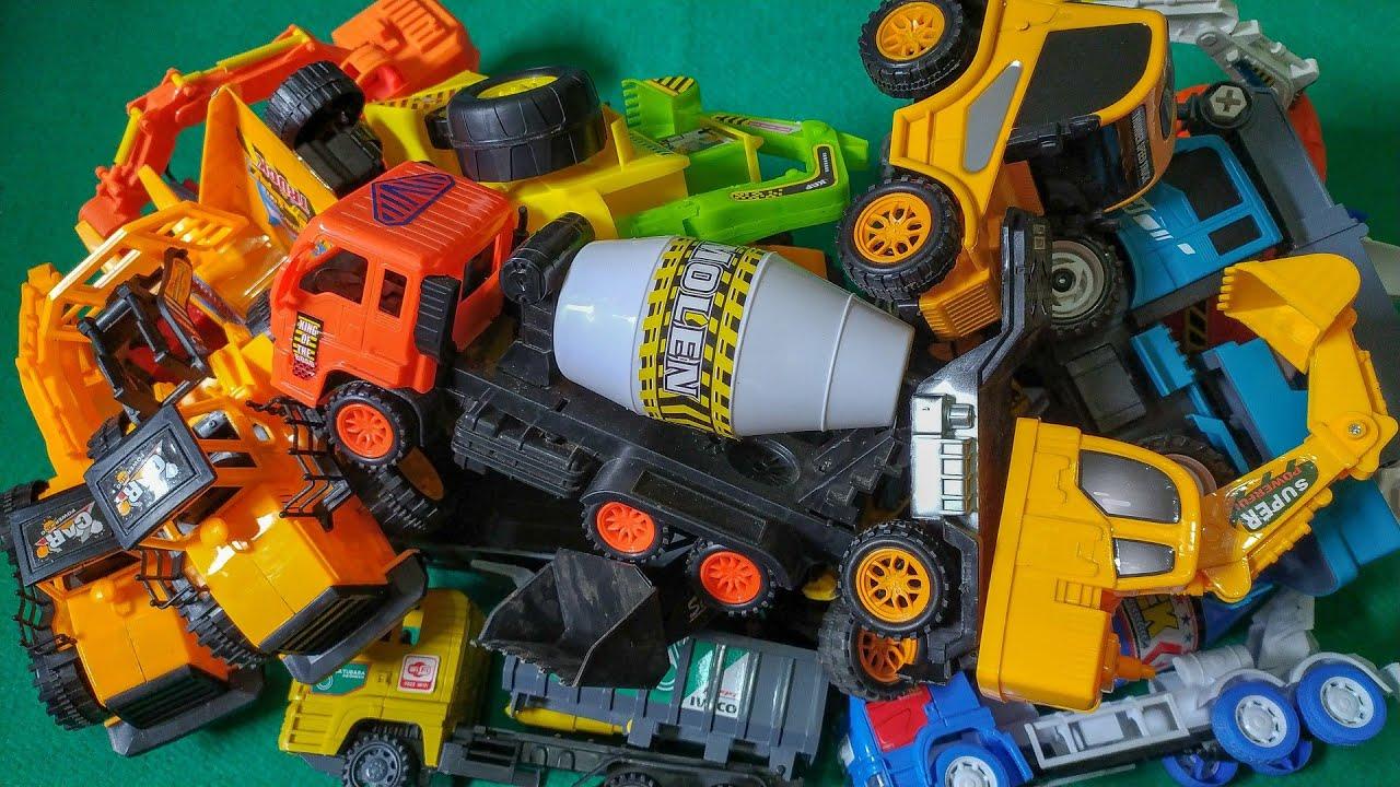 Review Mobil Konstruksi Semua Type - Mobil Truk Molen, Beko, Crane dan Mobil Truk